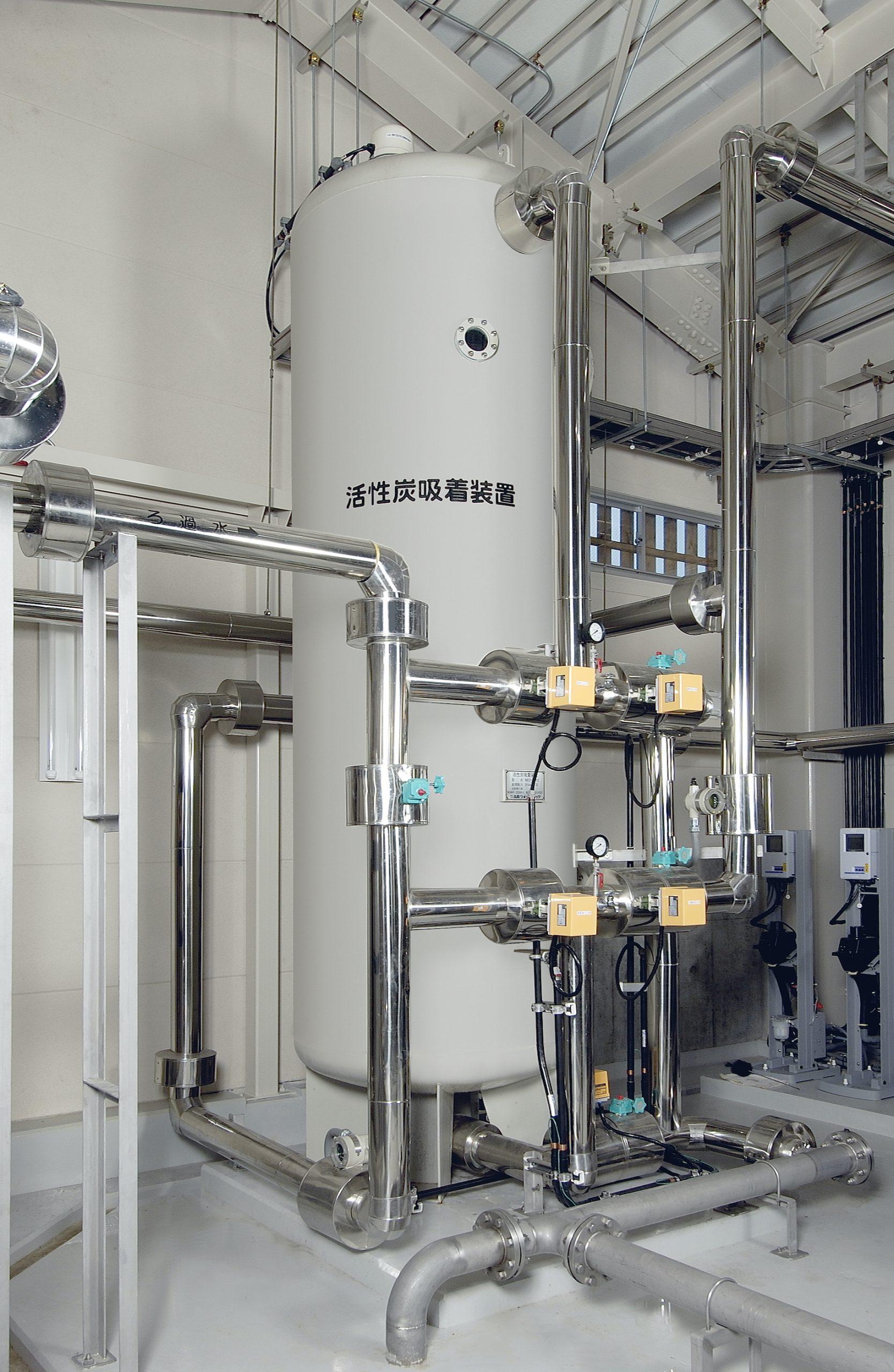 圧力式活性炭吸着装置 製品写真2