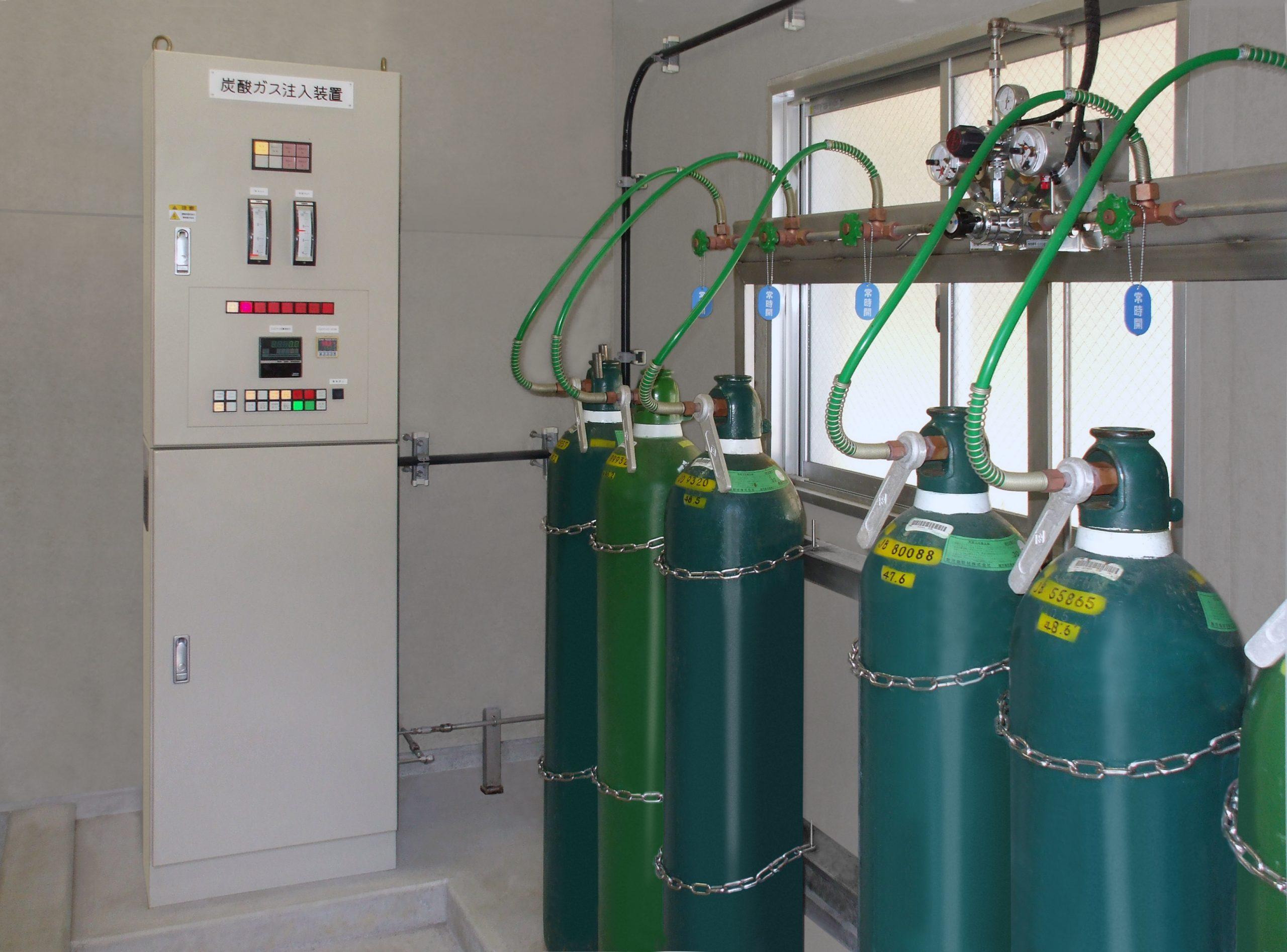 炭酸ガス注入装置 製品写真1