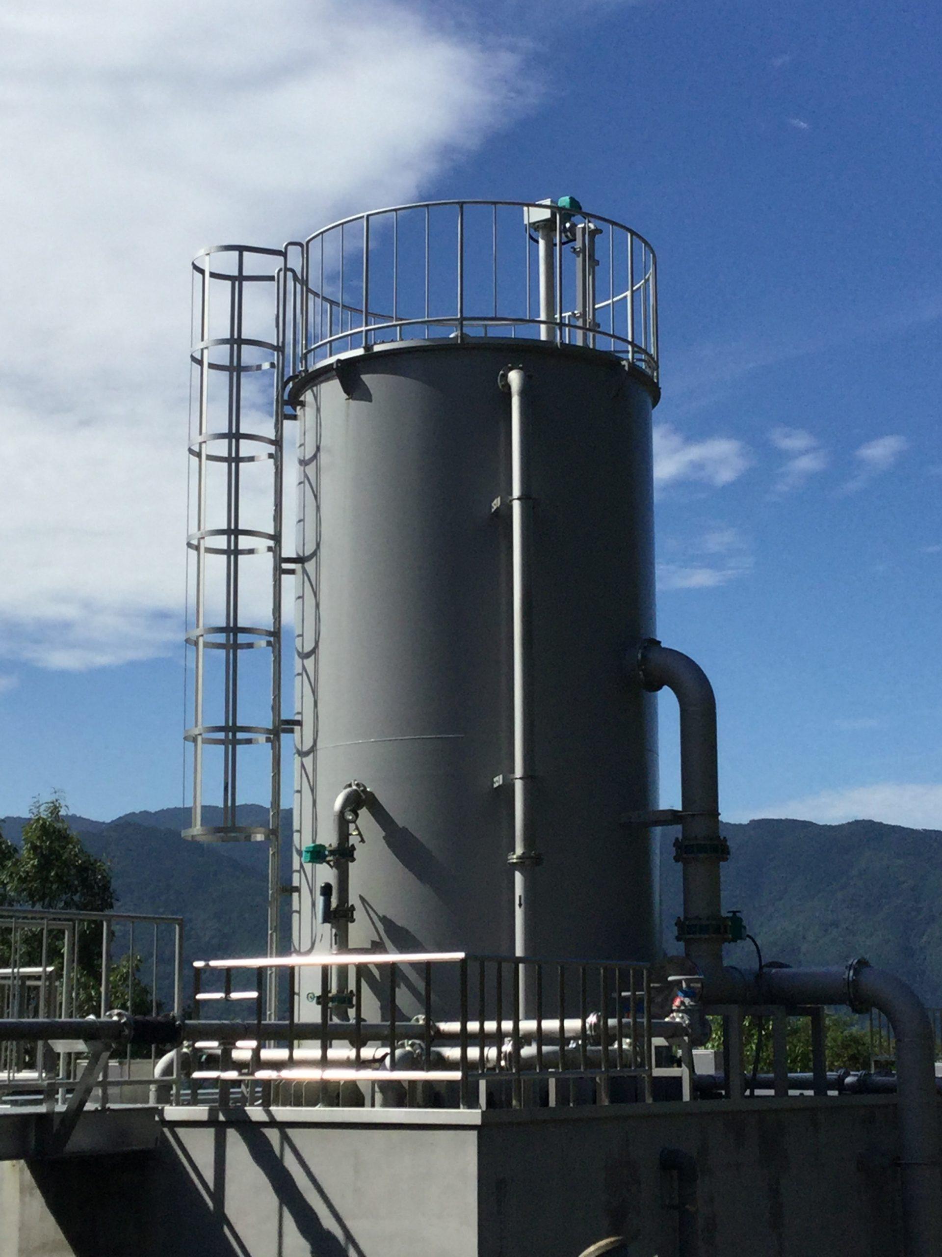 東みよし町 足代簡易水道第1浄水場整備工事 実績写真1