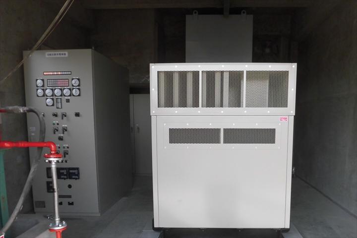 藍住町 第二浄水場自家発電設備更新工事 実績写真1