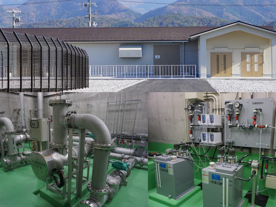 米原市 磯送水ポンプ所改良工事 実績写真1